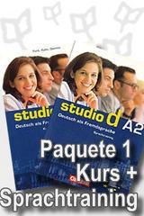 Studio d A2 Paquete 1 - Curso y Ejercicio -  AA.VV. - Cornelsen