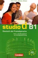 Studio d B1 - Libro de curso -  AA.VV. - Cornelsen