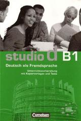 Studio d B1 - Profesores -  AA.VV. - Cornelsen