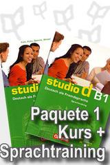 Studio d B1 Paquete 1 - Curso y Ejercicio -  AA.VV. - Cornelsen