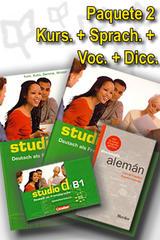 Studio d B1 Paquete 2 - Curso, Ejerc., Voc. Y Dic. -  AA.VV. - Cornelsen