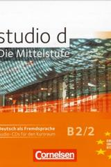 Studio d B2 / 2 - CD Audio  -  AA.VV. - Cornelsen