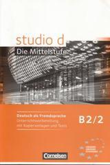 Studio d B2 / 2 - Profesores -  AA.VV. - Cornelsen