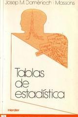 Tablas de estadística - Josep M. Domenech I Massons - Herder
