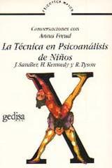 La técnica en psicoanálisis de niños -  AA.VV. - Editorial Gedisa