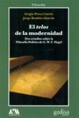 El telos de la modernidad -  AA.VV. - Editorial Gedisa