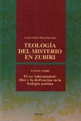 Teología del misterio en Zubiri - Guillerma Diaz Muñoz - Herder