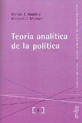 Teoría analítica de la política - Melvin Jay Hinich - Editorial Gedisa