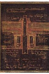 Tesla, Bosquejo de una turbina - Ultra blanda flexi -  Paperblanks - Paperblanks