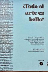 ¿Todo el arte es bello? Tomo 4 -  AA.VV. - Ediciones Manivela
