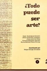¿Todo pued ser arte? Tomo 7 -  AA.VV. - Ediciones Manivela
