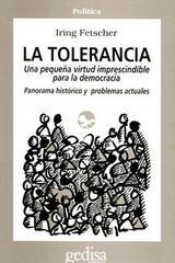 La tolerancia - Iring Fetscher - Editorial Gedisa