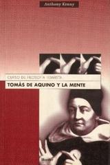Tomás de Aquino y la mente - Anthony Kenny - Herder
