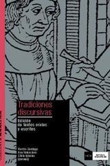 Tradiciones discursivas -  AA.VV. - Complutense