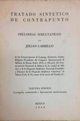 Tratado sintético de contrapunto - Julián Carrillo - Otras editoriales