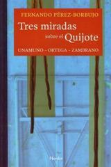 Tres miradas sobre el Quijote - Fernando Pérez Borbujo - Herder