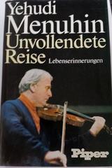 Unvollendete Reise - Yehudi Menuhin -  AA.VV. - Otras editoriales
