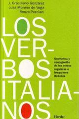 Los Verbos italianos - J. Graciliano González - Herder