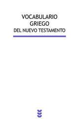 Vocabulario griego del Nuevo Testamento -  AA.VV. - Ediciones Sígueme
