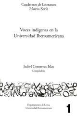Voces indígenas en la universidad iberoamericana - Isabel Contreras Islas - Ibero