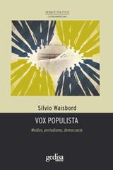 Vox Populista - Silvio Waisbord - Editorial Gedisa