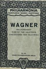 Walkurenritt - Richard Wagner -  AA.VV. - Otras editoriales