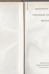 Werke - Theodor Fontane - Otras editoriales
