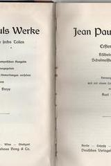 Werke, 3 vols. - Jean Paul - Otras editoriales