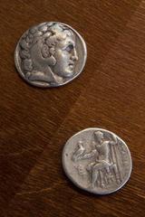 Alejandro Magno y Zeus -  Anónimo - Monedas