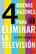 4 buenas razones para eliminar la televisión - Jerry Mander - Editorial Gedisa