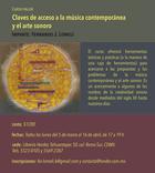Curso-taller | Claves de acceso a la música contemporánea y el arte sonoro