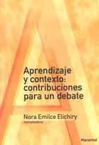 Aprendizaje y contexto: contribuciones para un debate - Nora Emilce Elichiry - Manantial