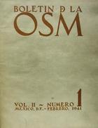 Boletín de la O.S.M. -  AA.VV. - Otras editoriales