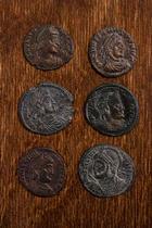 La caída del Imperio Romano -  Anónimo - Monedas