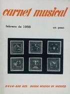 Carnet musical (febrero) -  AA.VV. - Otras editoriales