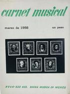 Carnet musical (marzo) -  AA.VV. - Otras editoriales