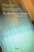 El Concepto de tiempo - Martin Heidegger - Herder