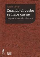 Cuando el verbo se hace carne - Paolo Virno - Tinta Limón