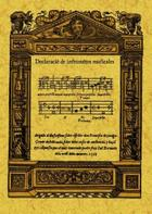Declaración de instrumentos musicales - Juan Bermudo - Maxtor