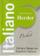 Diccionario Pocket Italiano - Gianpiero Pelegi - Herder