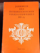 Jahrbuch des Österreichischen Volksliedwerkes -  AA.VV. - Österreichischen Volksliedwerk