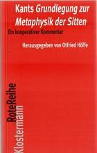 Kants Grundlegung zur Metaphysik der Sitten -  AA.VV. - Otras editoriales