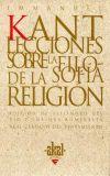 Lecciones sobre la filosofía de la religión - Immanuel Kant - Akal