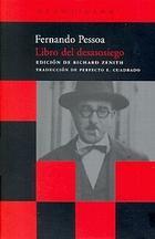 El libro del desasosiego - Fernando  Pessoa - Acantilado