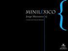 Miniléxico - Jorge Manzano Vargas - Ibero