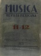 Música. Revista mexicana -  AA.VV. - Otras editoriales