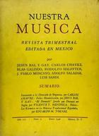 Nuestra música (año 3, #9) -  AA.VV. - Otras editoriales