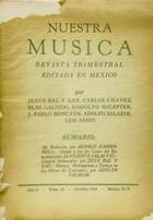 Nuestra música (año 4, #16) -  AA.VV. - Otras editoriales