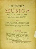 Nuestra música (año 5, #20) -  AA.VV. - Otras editoriales