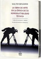 La obra de arte en la época de su reproductibilidad técnica - Walter Benjamin - Itaca